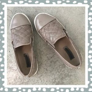 Steve Madden Quilted Slip-on Sneakers Size 6